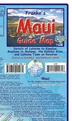 Maui Guide Map by Franko