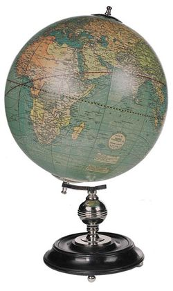 Antique Globe - Weber Costello