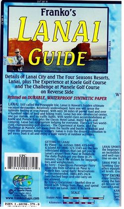 Lanai Guide Map by Franko