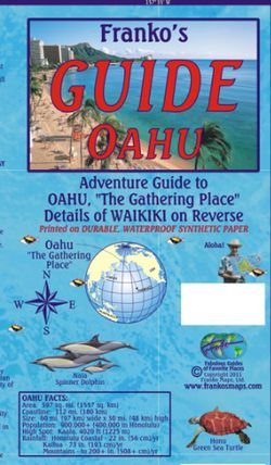 Oahu Guide Map by Franko