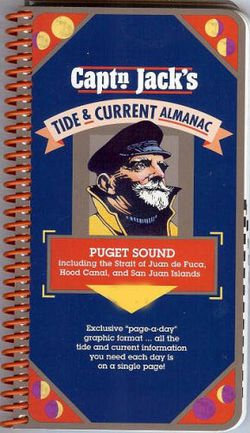 2018 Puget Sound Tide Guide by Captain Jacks