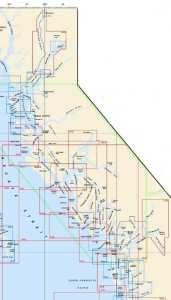 Coastal British Columbia General Charts