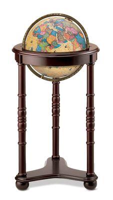 Lancaster World Globe - Illuminated 12
