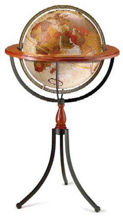 Santa Fe World Globe - 16