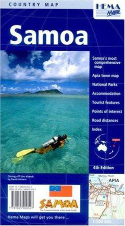 Samoa Travel Map by Hema