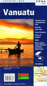 Vanuatu Travel Map