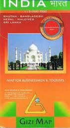 India Travel Map by Gizi
