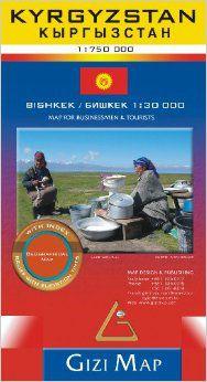 Kyrgyzstan Travel Map by Gizi