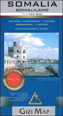 Somalia Travel Map by Gizi