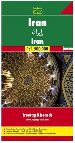 Iran Travel Map by Freytag & Berndt