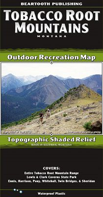 Tobacco Root Recreation Map by Beartooth Publishing