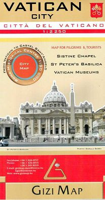 Vatican City Travel Map by Gizi