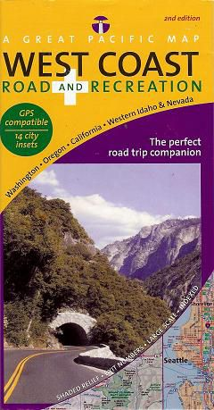 West Coast Road & Recreation Map