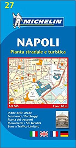 Naples Street Map by Michelin