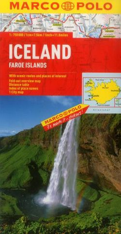 Iceland Travel Map by Marco Polo