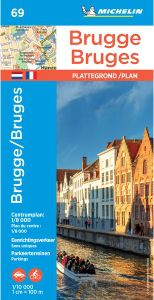 Bruges Map by Michelin