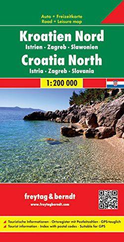 Croatia North by Freytag & Berndt