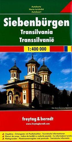 Transylvania (Romania) Travel Map l Freytag & Berndt