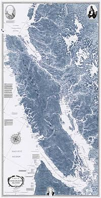 Vancouver Island Map by Sobay