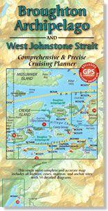 Broughton Archipelago & West Johnstone Strait Map by Fine Edge