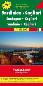 Sardinia Travel Map by Freytag & Berndt