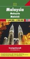 Malaysia Travel Map by Freytag & Berndt
