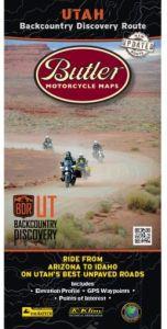 Utah Backcountry Motorcycle Map