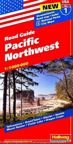 Pacific Northwest Road Map