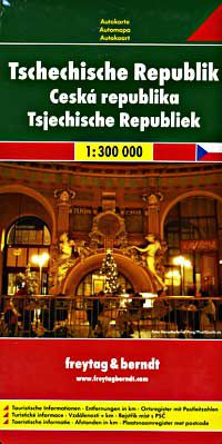 Czech Republic Travel & Road Map