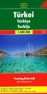 Turkey Travel Map by Freytag & Berndt