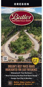 Oregon Motorcycle Map