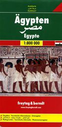 Egypt Travel Map by Freytag & Berndt