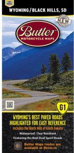 Wyoming Motorcycle Map