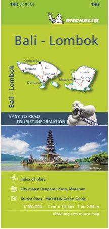 Bali & Lombok Map l Michelin