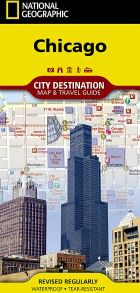 Chicago Destination Map by National Geographic