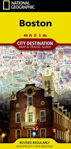 Boston Destination Map by National Geographic