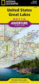 United States Great Lakes Adventure Map