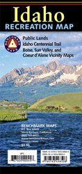 Idaho Recreational Road Map by Benchmark