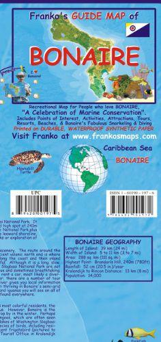 Bonaire Travel Map by Franko