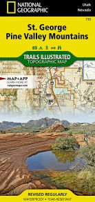 St George, Pine Valley Mountains Trails Illustrated Map - UT, NV