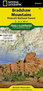 Bradshaw Mountain - Prescott National Forest Map - AZ