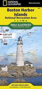 Boston Harbor Islands National Rec Area Map - MA