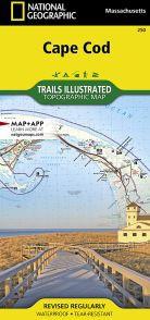Cape Cod National Seashore Map - MA