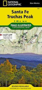 Santa Fe - Truchas Peak by National Geographic - NM