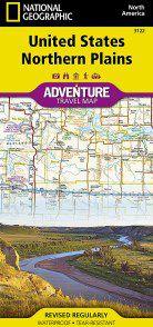 United States Northern Plains Adventure Map