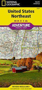 United States Northeast Adventure Map