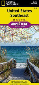 United States Southeast Adventure Map