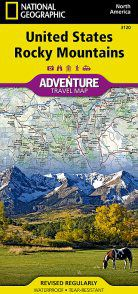 United States Rocky Mountains Region Adventure Map