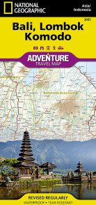 Bali Travel Map by National Geographic
