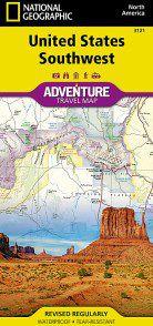 United States Southwest Adventure Map